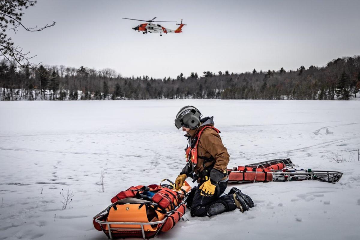 Coast Guard drop