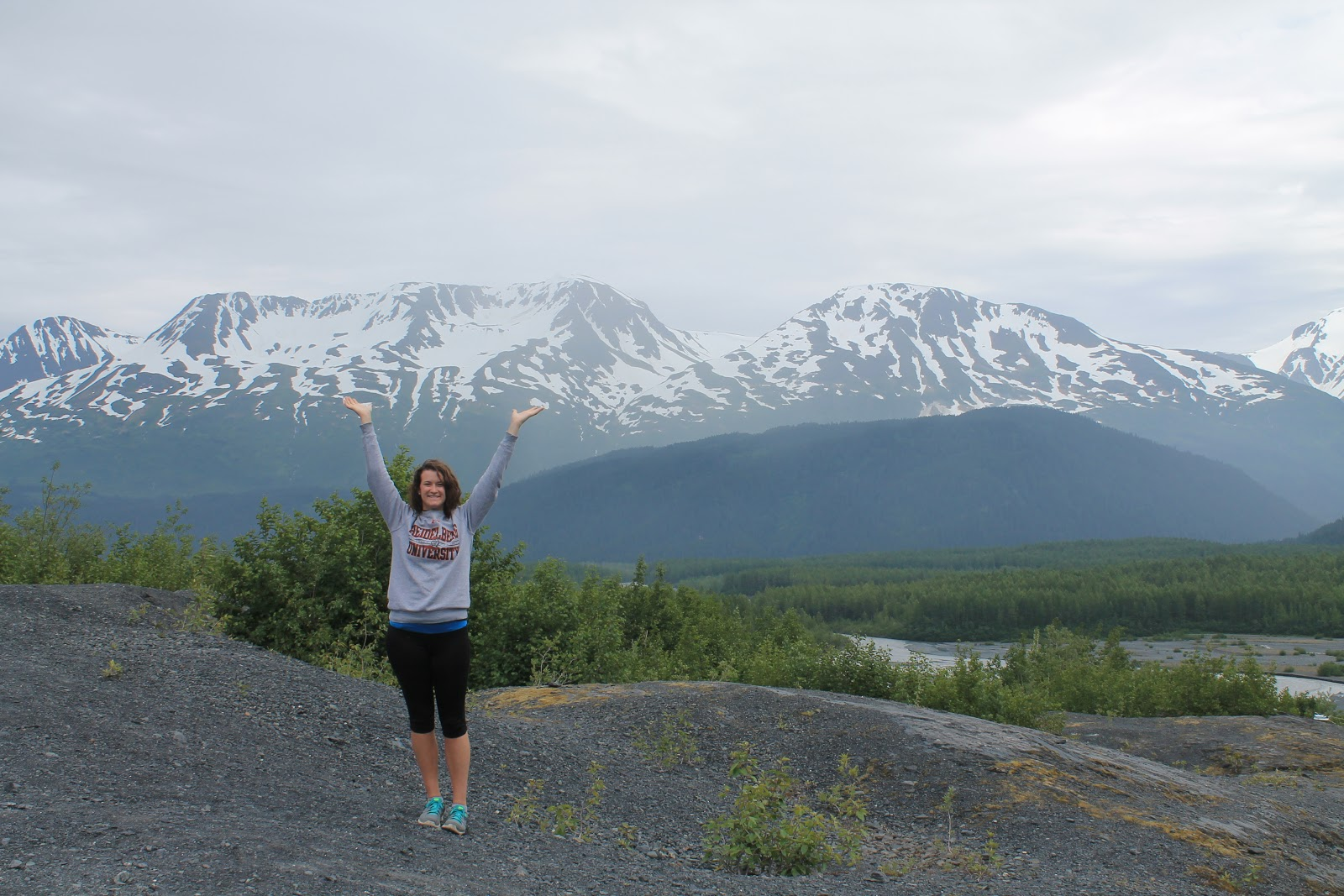 Sarah Parker in Alaska during Fellowship